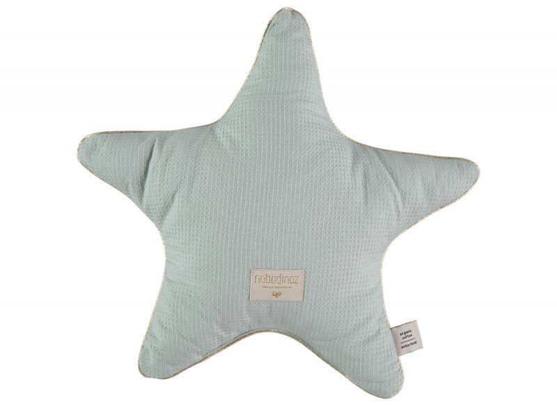 Aristote Star Cushion / Aqua