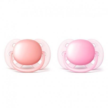 Fopspeen 0m+ ultra soft / Pink