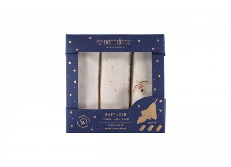 Baby Love Swaddle Box / Haiku Birds