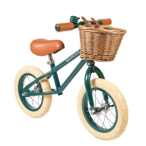 First go! Balance Bike / Dark Green