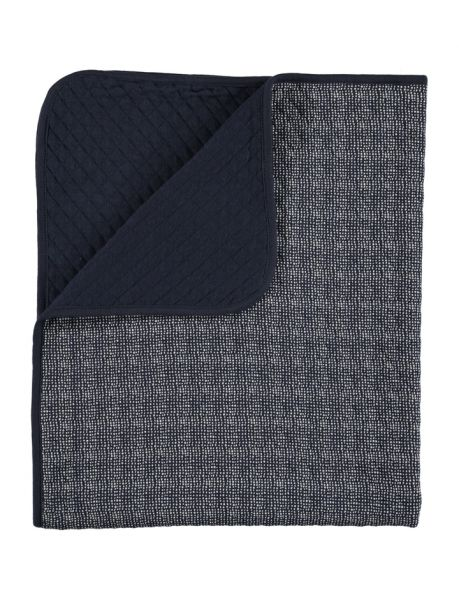 Lux printed blanket / Dark Blue