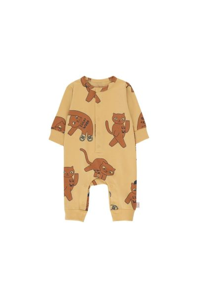 Cats One-Piece / Sand - Brown