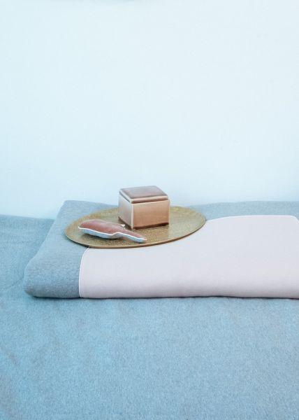 Box Kleed / Velours Pink