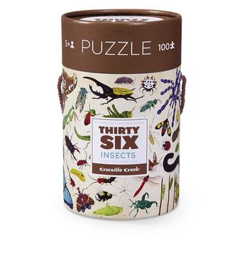 Puzzle / Insects (100 pcs)