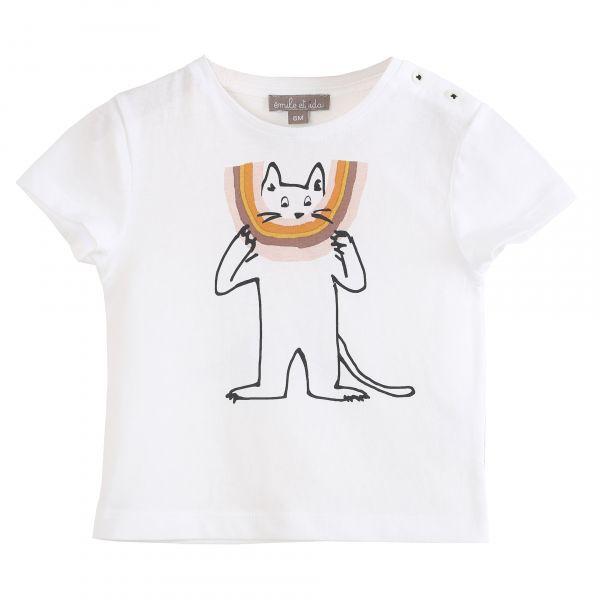 Tee Shirt / Ecru Chatciel