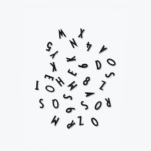 Letter box / Black