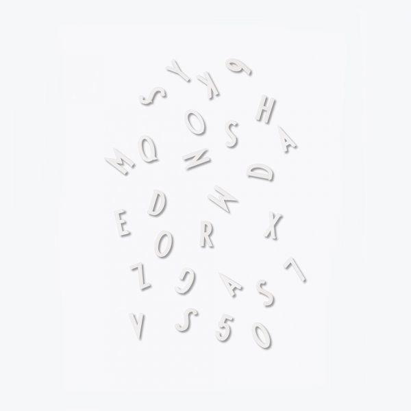 Letter box / White