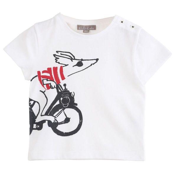 Tee Shirt / Ecru Rapido