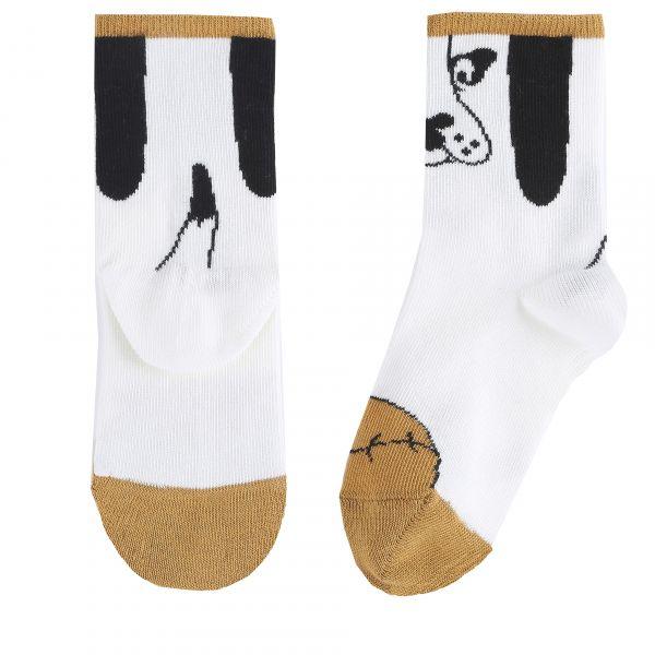 Socks Dog Baby / Ecru