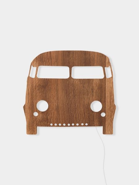 Car Lamp / Smoked Oak