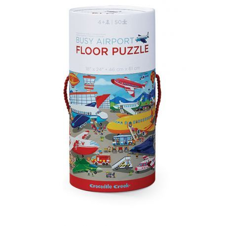 Floor puzzle / Busy Airport
