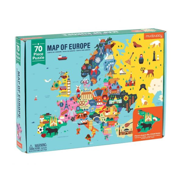 Geography Puzzle / Europe