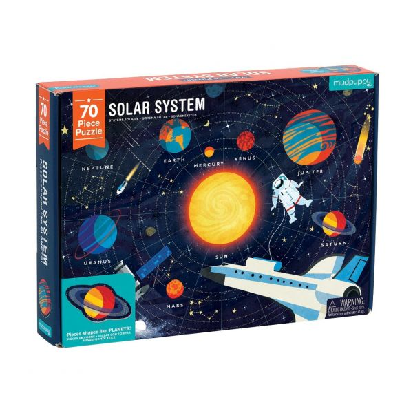 Geography Puzzle / Solar System