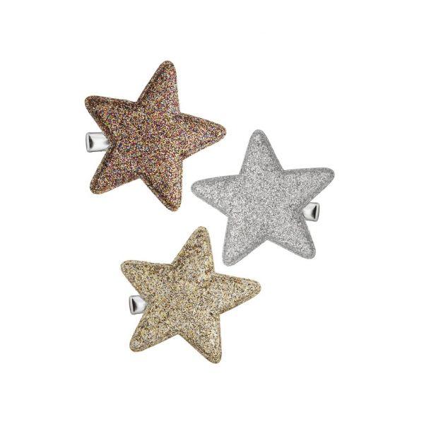Glitter Super Star Salon Clips