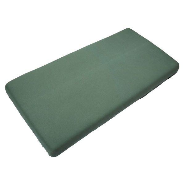 Fitted Sheet 90 x 200 cm / Aspen Green