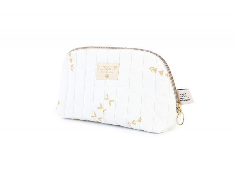 Holiday Vanity Case Small / Gold Secrets - White