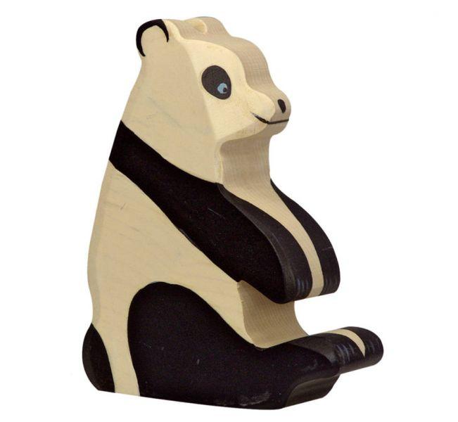 Houten Pandabeer