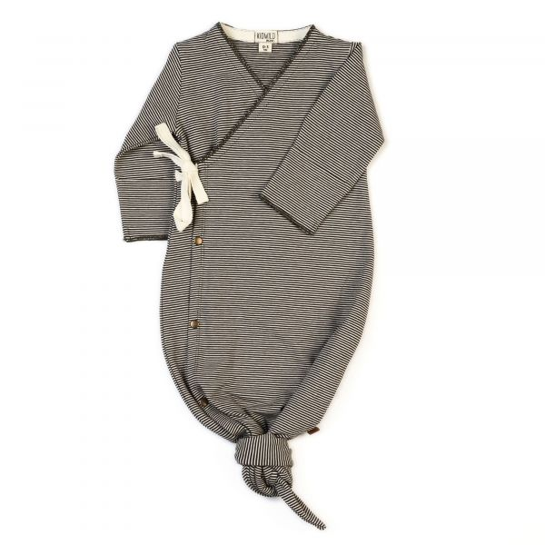 Kimono Gown / Stripe