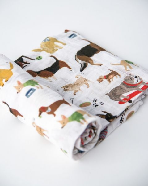Cotton Muslin Swaddle / Woof
