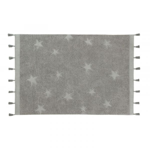 Tapijt hippy stars grey