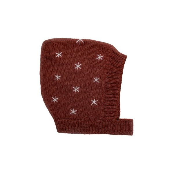 Knitted Bonnet 0-6 mnd / Stars Sienna