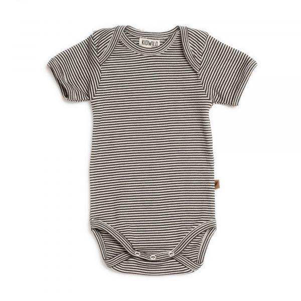 Bodysuit SS / Knit Stripe