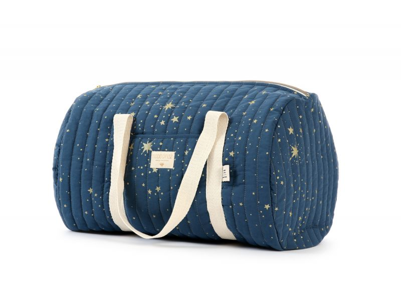 New York Weekend Bag / Gold Stella - Night Blue
