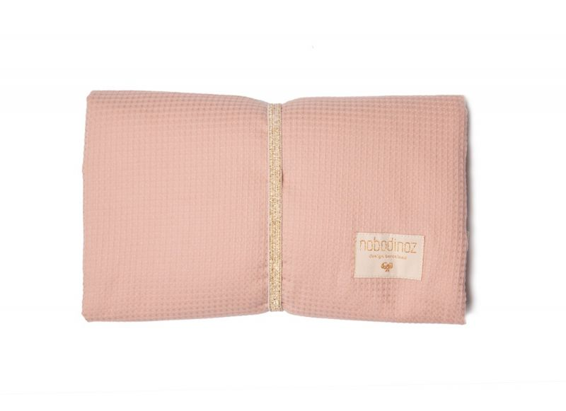 Mozart Waterproof Changing Pad / Misty Pink