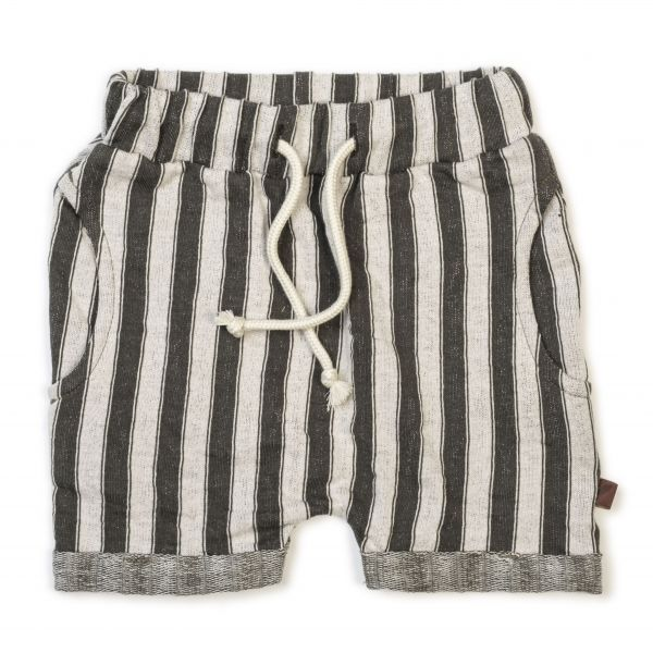 Harem Shorts / Slate Stripe