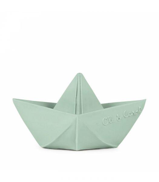 Bijtspeeltje / Origami Boat Mint