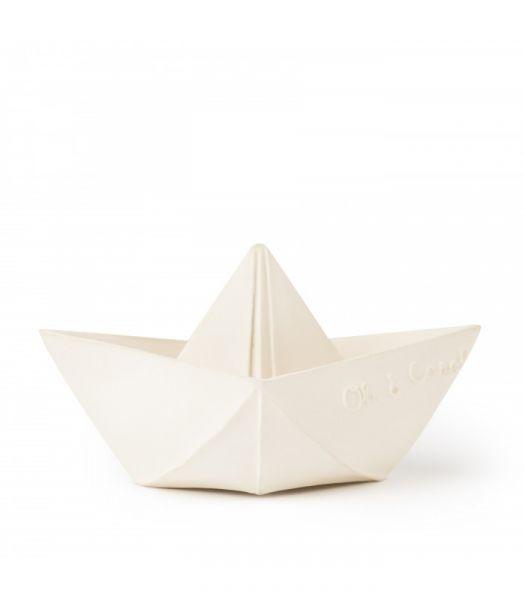 Bijtspeeltje / Origami Boat White