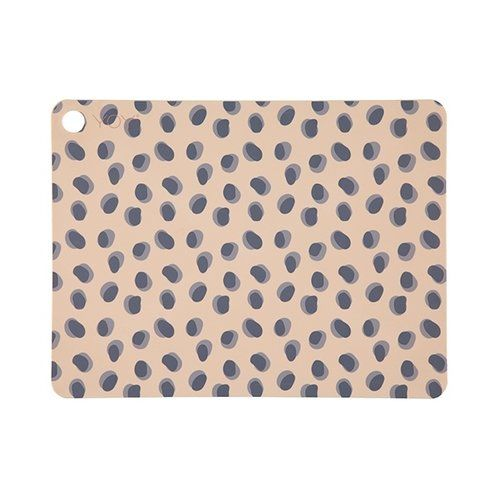 Placemat Leopard Dots / 2-pack