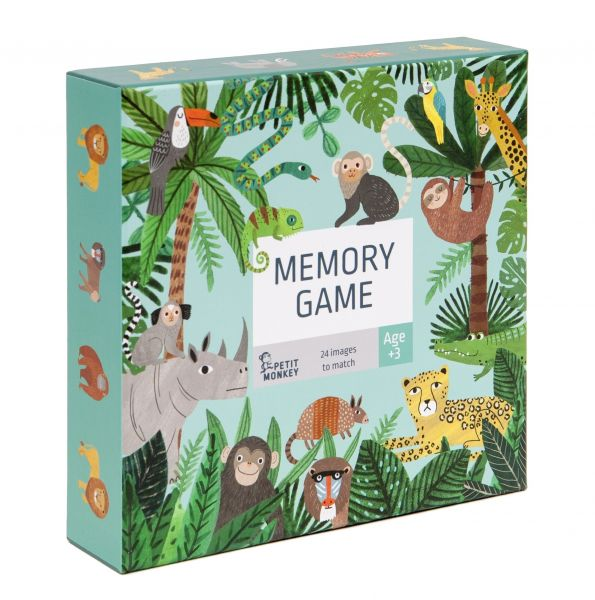 Memory Game / Jungle Animals