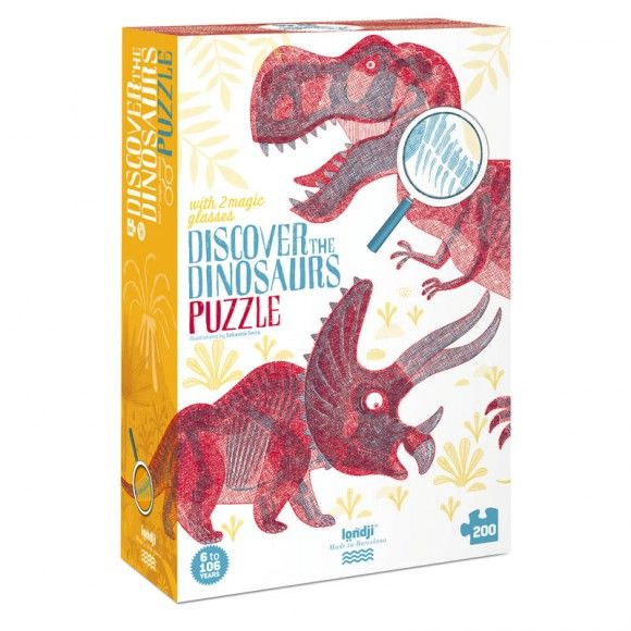 Puzzel - Discover the dinosaurs