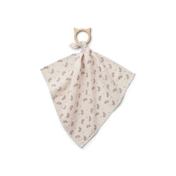 Dines Teether Cuddle Cloth / Fern-Rose
