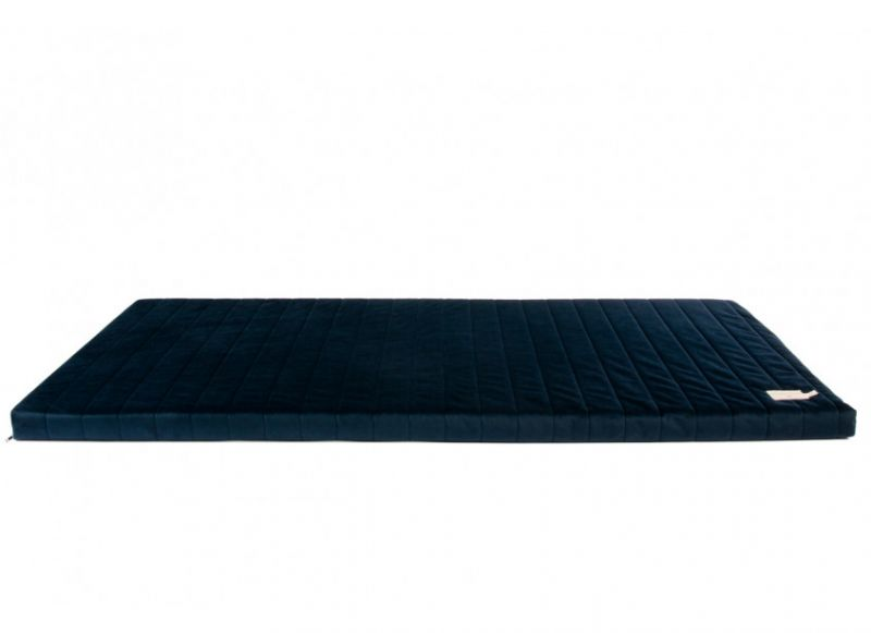 Zanzibar Mattress Velvet / Night Blue