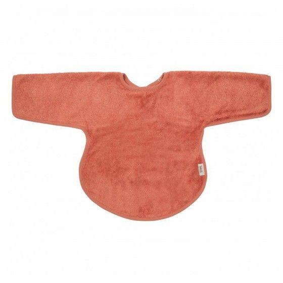 Slab met lange mouwen / Apricot Blush