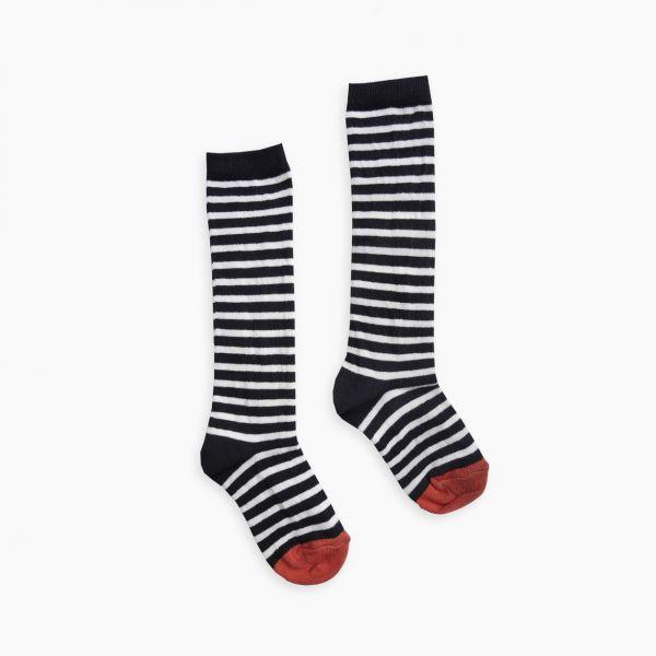 High Sock Stripe / Black Stripe