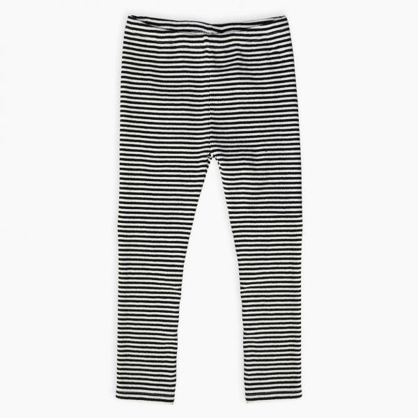 Legging Rib Jersey / Milk Stripe