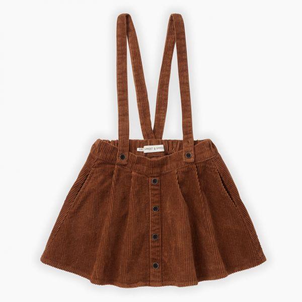 Corduroy Skirt / Mocha