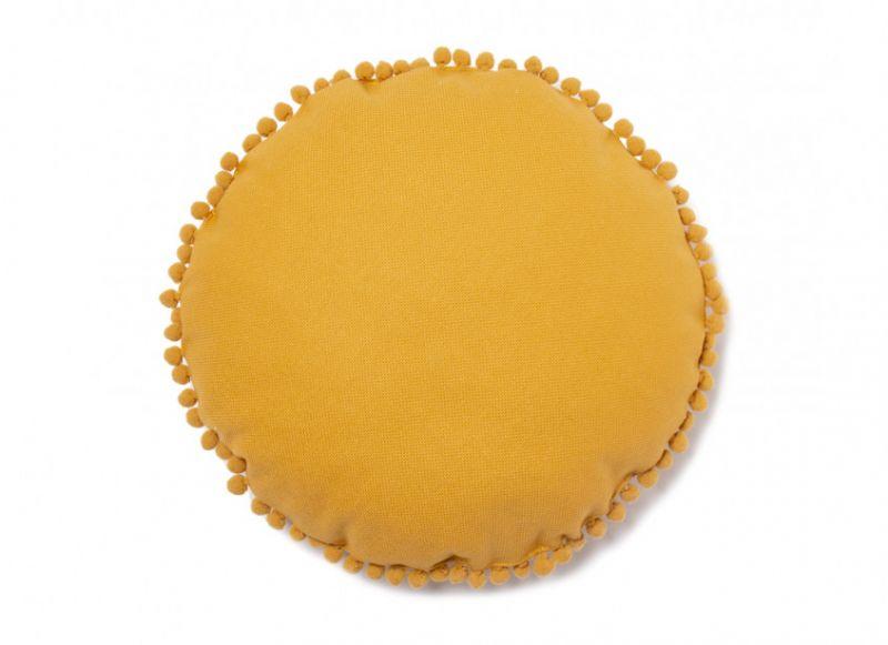 Sunny Round Cushion / Farniente Yellow