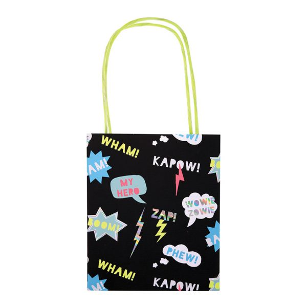 Super Hero Party Bags