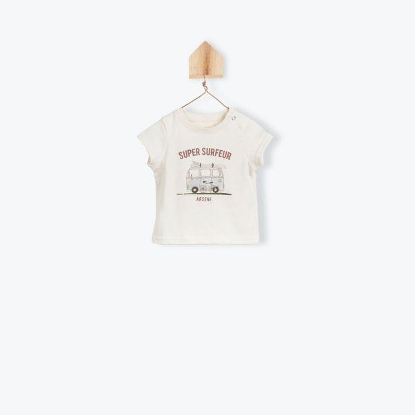 T-shirt Super Surfeur / Craie